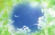 清新夏日 水 空 绿叶壁纸 朦胧清新夏日PS图片1920 1200 清新夏日水 空 绿叶壁纸 风景壁纸