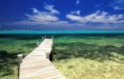 热带岛屿海滩高清风景 风景壁纸
