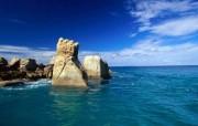 热带岛屿 蔷薇岛屿 风景壁纸