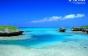日本冲绳海滩壁纸美丽岛物语三 风景壁纸