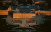 上帝之眼 扬恩 亚瑟 Yann Arthus Bertrand 空中摄影奇景壁纸法国篇 鸟瞰法国 日落下的凡尔赛宫图片壁纸 上帝之眼空中摄影奇景法国篇 风景壁纸