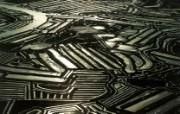 上帝之眼 扬恩 亚瑟 Yann Arthus Bertrand 空中摄影奇景壁纸法国篇 鸟瞰法国 玛汉纳牡蛎养殖场图片壁纸 上帝之眼空中摄影奇景法国篇 风景壁纸