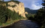 山脉峡谷 壁纸3 山脉峡谷 风景壁纸