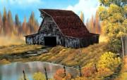 手绘风景油画壁纸 手绘风景油画壁纸 风景壁纸