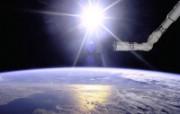 探索地球家园 令人惊叹的NASA地球日壁纸集 地球地平线上的奋进号机械臂 Robot Over the Horizon 壁纸下载 探索地球家园令人惊叹的NASA地球日壁纸集 风景壁纸