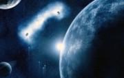 外太空精美行星设计高清壁纸 第二集 壁纸4 外太空精美行星设计高 风景壁纸