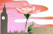 完美搭配国家与鲜花宽屏壁纸 风景壁纸