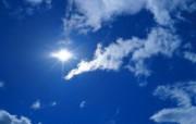 蓝天白云图片 阳光 蓝天 白云壁纸 蔚蓝天空蓝天白云壁纸 风景壁纸