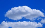 蔚蓝天空 白云朵朵壁纸 蔚蓝天空蓝天白云壁纸 风景壁纸