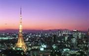 Windows 7世界名胜高清壁纸 亚洲篇 日本 东京铁塔 Tokyo Tower and Roppongi Tokyo Japan Windows 7世界名胜高清壁纸亚洲篇 风景壁纸
