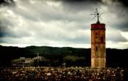 西班牙Girona HDR风格宽屏壁纸 壁纸2 西班牙Girona 风景壁纸