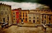 西班牙Girona HDR风格宽屏壁纸 壁纸6 西班牙Girona 风景壁纸