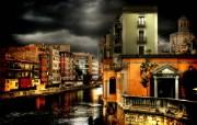 西班牙Girona HDR风格宽屏壁纸 壁纸11 西班牙Girona 风景壁纸