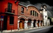 西班牙Girona HDR风格宽屏壁纸 壁纸13 西班牙Girona 风景壁纸