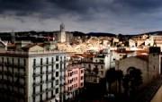 西班牙Girona HDR风格宽屏壁纸 壁纸24 西班牙Girona 风景壁纸