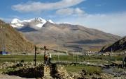 西藏风光高清宽屏壁纸 风景壁纸