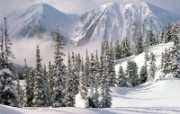 雪景 雪山 冰川(一 风景壁纸