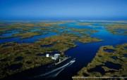 上帝之眼 Yann Arthus Bertrand 扬恩 亚瑟空中摄影奇景壁纸北美篇 鸟瞰美国 密西西比河河口图片壁纸 扬恩・亚瑟空中摄影奇景 北美篇 风景壁纸