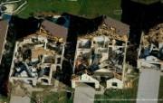 上帝之眼 Yann Arthus Bertrand 扬恩 亚瑟空中摄影奇景壁纸北美篇 鸟瞰美国 佛罗里达被龙卷风破坏后的民居图片壁纸 扬恩・亚瑟空中摄影奇景 北美篇 风景壁纸