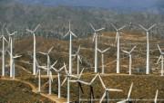 上帝之眼 Yann Arthus Bertrand 扬恩 亚瑟空中摄影奇景壁纸北美篇 鸟瞰美国 棕榈泉附近的风力发电机图片壁纸 扬恩・亚瑟空中摄影奇景 北美篇 风景壁纸