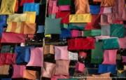 上帝之眼 Yann Arthus Bertrand 扬恩 亚瑟空中摄影奇景壁纸北美篇 鸟瞰墨西哥 墨西哥城的市集图片壁纸 扬恩・亚瑟空中摄影奇景 北美篇 风景壁纸