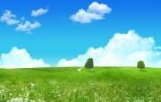 阳光灿烂的夏天 童话般的夏日风景壁纸 阳光灿烂的夏天 风景壁纸