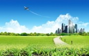 阳光灿烂的夏天 绿色大自然和城市建设图片 阳光灿烂的夏天 风景壁纸