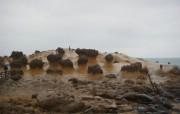 野柳地质公园壁纸 野柳地质公园壁纸 风景壁纸