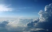 意境!蓝天白云壁纸 风景壁纸