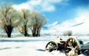 专题摄影壁纸下雪的天空 风景壁纸