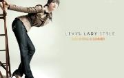 2009 LEVI Lady Style 女性时装 壁纸17 2009 LEVI 广告壁纸