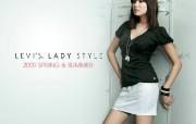 2009 LEVI Lady Style 女性时装 壁纸21 2009 LEVI 广告壁纸
