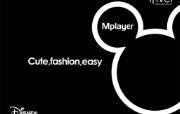 艾利和Mplayer 壁纸2 艾利和Mplayer 广告壁纸