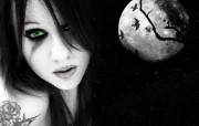 暗黑艺术倩女幽魂 广告壁纸