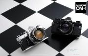 Olympus 奥林巴斯相机壁纸 70年经典 下辑 1973年的相机 Olympus OM 1 相机 Olympus Camera OM 1 Camera 奥林巴斯70年经典相机二 广告壁纸