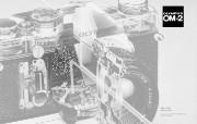 Olympus 奥林巴斯相机壁纸 70年经典 下辑 1975年的相机 Olympus OM 2 相机 Olympus Camera OM 2 Camera 奥林巴斯70年经典相机二 广告壁纸