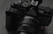 Olympus 奥林巴斯相机壁纸 70年经典 下辑 传统相机 Olympus OM 1n 相机 Olympus Camera OM 1n Camera 奥林巴斯70年经典相机二 广告壁纸