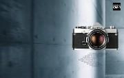 Olympus 奥林巴斯相机壁纸 70年经典 下辑 奥林巴斯相机图片 Olympus Camera OM 1 Camera 奥林巴斯70年经典相机二 广告壁纸
