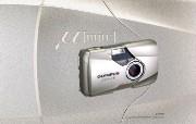 Olympus 奥林巴斯相机壁纸 70年经典 下辑 奥林巴斯相机图片 Olympus Digital Camera mju2 Camera 奥林巴斯70年经典相机二 广告壁纸