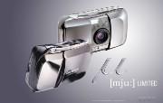 Olympus 奥林巴斯相机壁纸 70年经典 下辑 奥林巴斯数码相机图片 Olympus Digital Camera mju Limited Camera 奥林巴斯70年经典相机二 广告壁纸