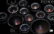 Olympus 奥林巴斯相机壁纸 70年经典 下辑 奥林巴斯 OM Zuiko 镜头 OM Zuiko Lens Grpup 奥林巴斯70年经典相机二 广告壁纸