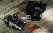 Olympus 奥林巴斯相机壁纸 70年经典 下辑 传统相机 OM10 相机 Olympus Camera OM10 Camera 奥林巴斯70年经典相机二 广告壁纸