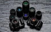 Olympus 奥林巴斯相机壁纸 70年经典 下辑 1988年的相机 OM101 相机 Olympus Camera OM101 Camera 奥林巴斯70年经典相机二 广告壁纸