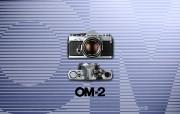 Olympus 奥林巴斯相机壁纸 70年经典 下辑 传统相机 Olympus OM 2 相机 Olympus Camera OM 2 Camera 奥林巴斯70年经典相机二 广告壁纸