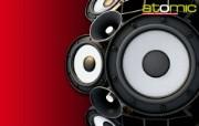 Audio 喇叭 澳洲电脑玩家杂志 Atomic MPC 硬件壁纸 广告壁纸