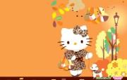 长荣Hello Kitty桌面壁纸 长荣航空Hello Kitty 彩绘机宣传壁纸 广告壁纸