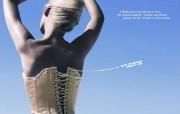 创意平面广告设计 人物篇 Air France 法��航空平面广告设计 创意广告设计壁纸第六辑人物篇 广告壁纸