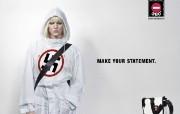 创意平面广告设计 人物篇 个性宣言 360°包包广告设计壁纸 创意广告设计壁纸第六辑人物篇 广告壁纸