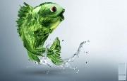 创意无限 Fresh Keeping Aucma 冰箱广告设计 创意广告设计壁纸第四辑 广告壁纸