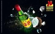 创意无限 J B Creates the Nights 啤酒广告设计 创意广告设计壁纸第四辑 广告壁纸